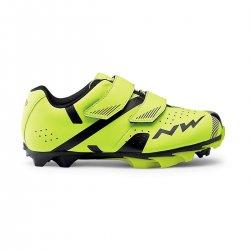 Northwave Hammer 2 Junior - pantofi MTB copii - galben-fluo