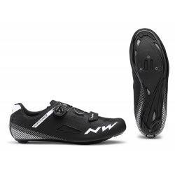 Northwave Core Plus Wide - pantofi pentru ciclism sosea - model lat - negru
