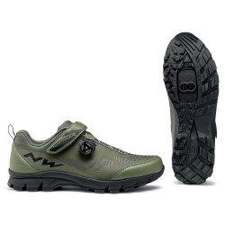 Northwave Corsair - pantofi pentru ciclism mtb - verde