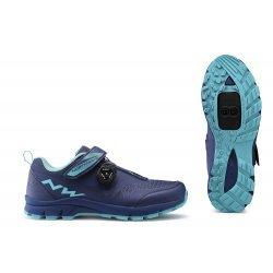 Northwave Corsair W - pantofi pentru ciclism mtb - albastru