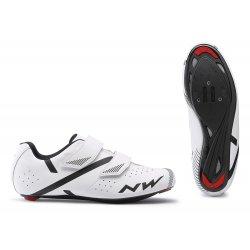 Northwave Jet 2 - pantofi pentru ciclism sosea - alb