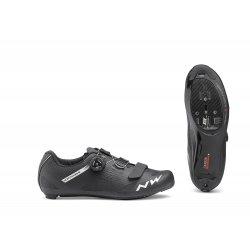 Northwave Storm Carbon - pantofi pentru ciclism sosea - negru