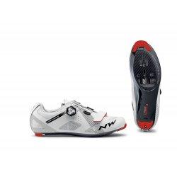 Northwave Storm Carbon - pantofi pentru ciclism sosea - alb