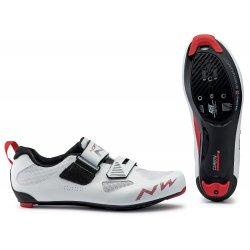 Northwave Tribute 2 Carbon - pantofi pentru ciclism sosea triatlon - alb