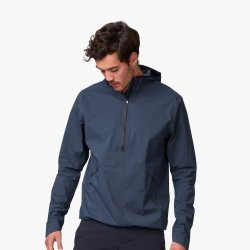 On Waterproof Anorak - bluemarin