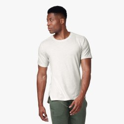 On Tricou Comfort-T 2019 - alb