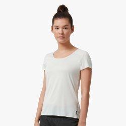 On Performance-T - Ice White - tricou sport tehnic pentru femei