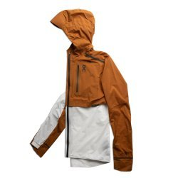 On Weather Jacket - Pecan White - jacheta alergare pentru barbati