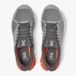 On Cloud Cloudflyer - pantofi alergare pentru barbati - grey/orange