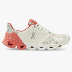 On Cloud Cloudflyer - pantofi alergare pentru femei - white/coral