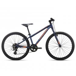 Orbea MX 24 Dirt - albastru-portocaliu