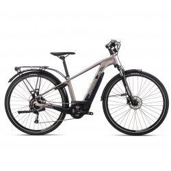 Orbea Keram Comfort 30 - bicicleta electrica oras - argintie