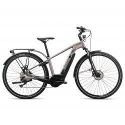 Orbea Keram Comfort 20 - bicicleta electrica oras - argintie