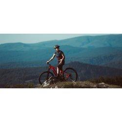 "Orbea Keram 30 - bicicleta electrica 29"" - albastru-rosu"