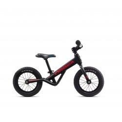 Orbea Grow 0 - bicicleta fara pedale pentru copii - negru-rosu