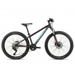 Orbea MX 24 Trail - mov inchis-turcoaz