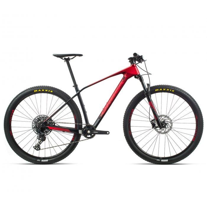 "Orbea Alma M50 - bicicleta MTB hardtail XC 29"" - rosu-negru"