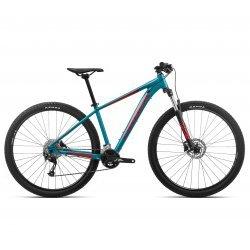 """Orbea - bicicleta MTB hardtail cu roti 27.5"""" - MX 40 - albastru-rosu"""