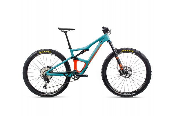 "Orbea Occam M30 - bicicleta MTB full suspension All Mountain 29"" - albastru-portocaliu"