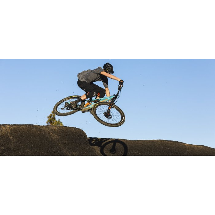 "Orbea Occam M30 - bicicleta MTB full suspension All Mountain 29"" - albastru-portocaliu"