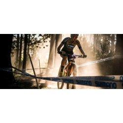 "Orbea Oiz H30 - bicicleta full suspension XC 29"" - albastru-portocaliu"
