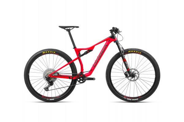 "Orbea Oiz H30 - bicicleta MTB full suspension XC 29"" - rosu-negru"