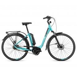 Orbea Optima Comfort 30 - bicicleta electrica oras - albastra