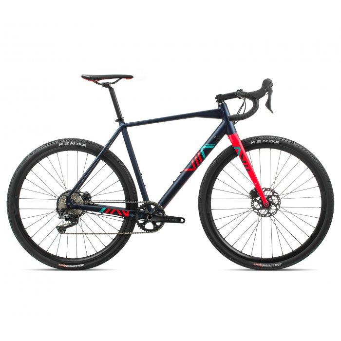 Orbea Terra H30-D 1X - bicicleta cyclo cross - albastru-rosu