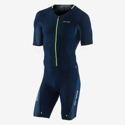 Orca 226 Perform Aero Race Suit - costum trisuit pentru triatlon - albastru-verde