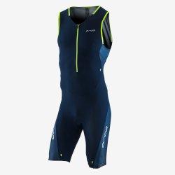 Orca 226 Perform Race Suit - costum trisuit pentru triatlon - albastru-verde