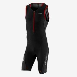 Orca 226 Perform Race Suit - costum trisuit pentru triatlon - negru-portocaliu