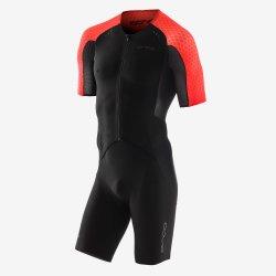 Orca RS1 Kona Aero Race - costum trisuit pentru triatlon - negru-rosu