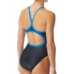 TYR - Womens 1 piece swimsuit - Orion Diamondfit - blue