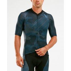 2XU - Aero Cycle Jersey - Tricou ciclism - albastru