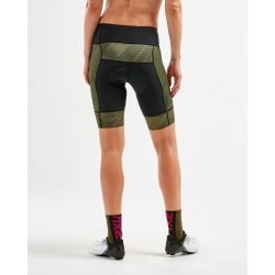 2XU - Elite Cycle Shorts W - negru-verde