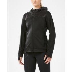 2XU HEAT Hooded Membrane Jacket cu gluga W - neagra - jacheta alergare