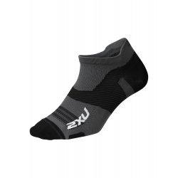 2XU - Sosete Vectr Ultralight No Show - gri-negru