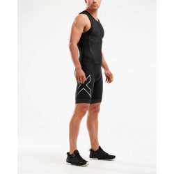 2XU - Compression Full Zip Trisuit - negru