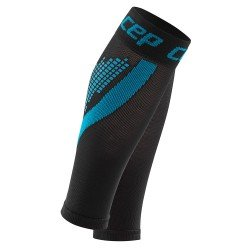 CEP Compresie gamba Nighttech W negru-albastru