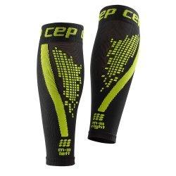 CEP Compresie gamba Nighttech negru-verde