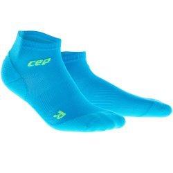 CEP Sosete low cut Ultralight albastru-verde