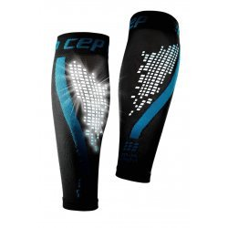 CEP Compresie gamba Nighttech W albastru