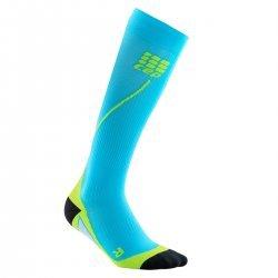CEP Sosete de compresie 2.0 pentru alergare albastru hawaii-verde