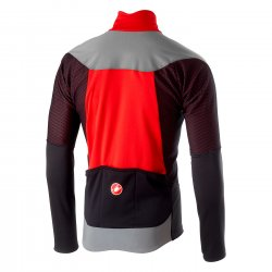Castelli Mortirolo V Reflex jacheta - rosu-gri-negru