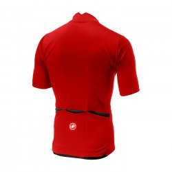 Castelli Espresso - tricou pentru ciclism - rosu