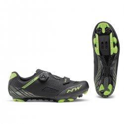Northwave Origin Plus pantofi MTB negru-verde
