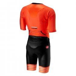 Castelli Trisuit All Out Speed portocaliu
