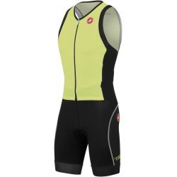 Free Sanremo Suit Sleeveless Black Yellow Castelli