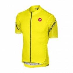 Castelli Entrata ShortSleeve tricou cu maneca scurta galben fluo
