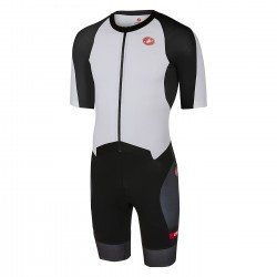 Castelli Trisuit All Out Speed negru-alb